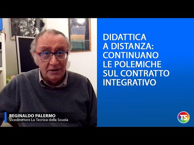 Didattica a distanza: continuano le polemiche sul contratto integrativo