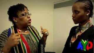 SA Youth Development UK Pamela Nomvete (Actress, Writer &  Author)-