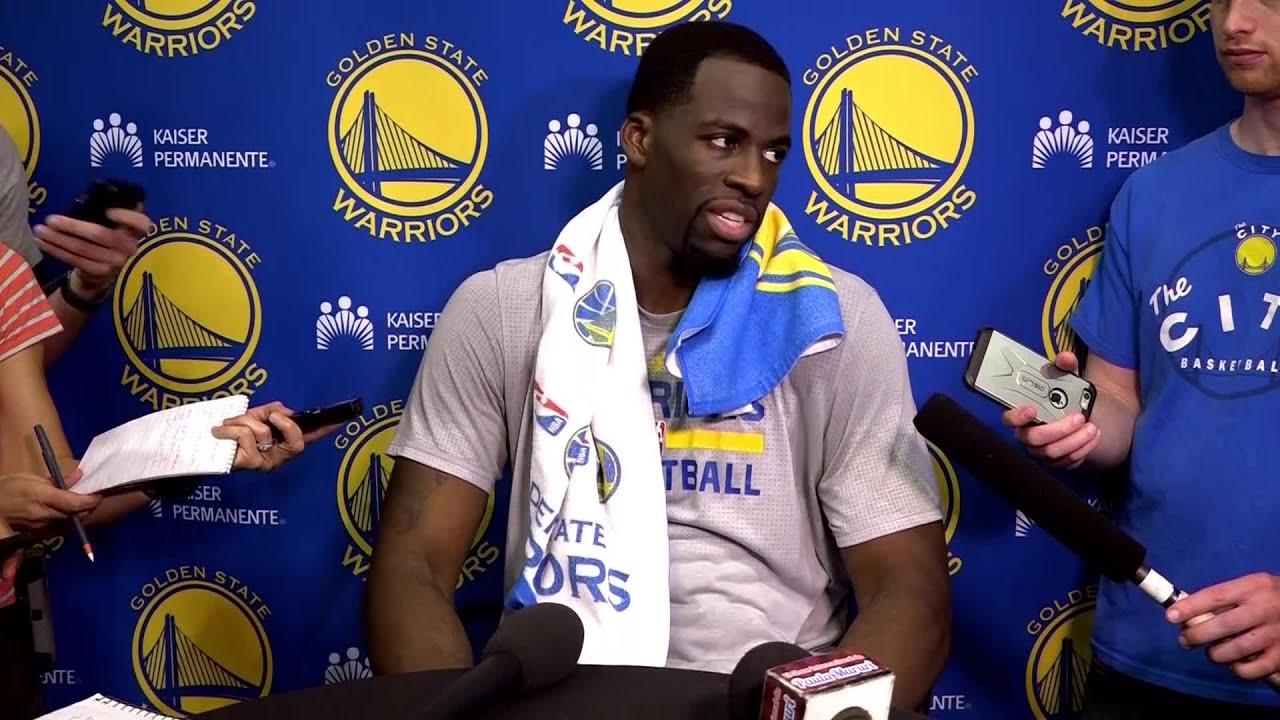 Draymond Green on Klay Thompson's All-NBA team snub: 'I think it's pretty crazy'