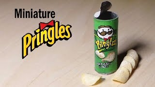 Miniature Pringles - Polymer Clay & Paper Tutorial