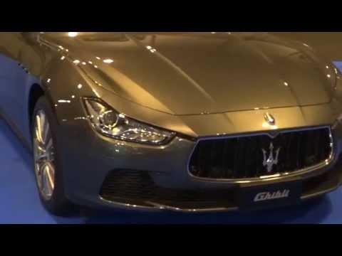 Maserati Ghibli at Madrid Motor Show 2014 | AutoMotoTV