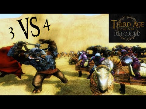 Third Age: Total War (Reforged) - ROUTE TO THE LAST SHRINE (Battle Replay)