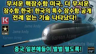 한국의 특수 잠수함 공개…전례 없는 기술 나타났다! -…