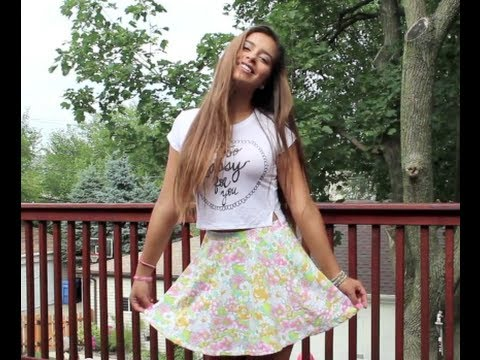 5bcc7484272 How To Style: Crop Tops - YouTube