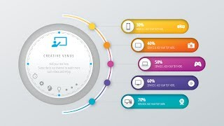 Design Workflow Layout, Annual Report, Business slide in Microsoft Office PowerPoint PPT thumbnail