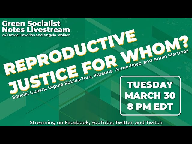 Women's History Month 2021: Reproductive Justice for Whom?