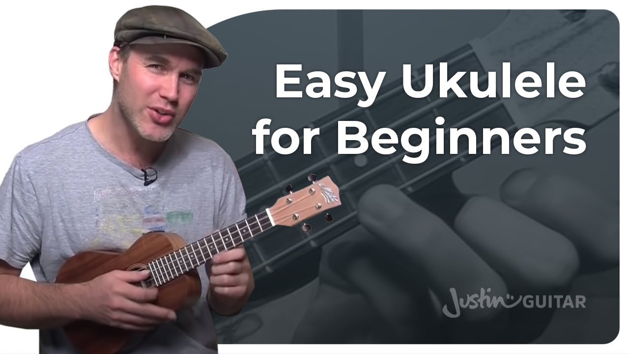 How To Play Ukulele - Beginner Lesson 1 - Easy Chords, Strumming And Songs [UK-001] - YouTube