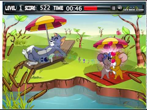 Juego: Mr & Mrs Jerry Kissing