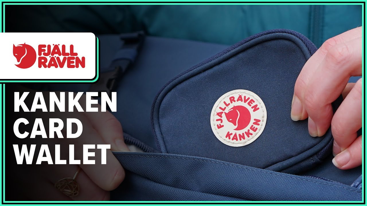 11 cm FJ/ÄLLR/ÄVEN K/ånken Card Wallet Kreditkartenh/ülle