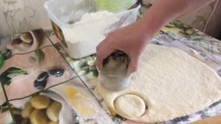 Сметанные пышки на сковороде