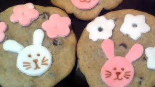 Cute & Easy Bunny Rabbit Cookies For Easter