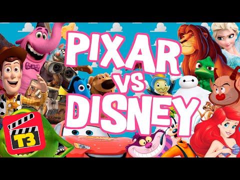 Disney VS Pixar - Toma 3 / Memo Aponte