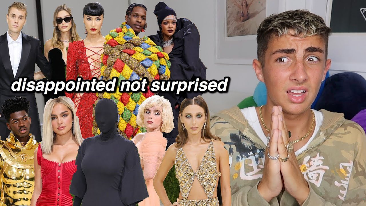 Reacting to Met Gala 2021 Outfits (the worst yet)