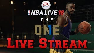 Opening Day! Let's Grind! NBA LIVE 18 The One | Live Stream (Xbox One)