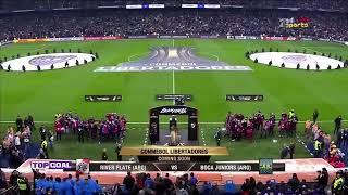 ملخص مباراة بوكا جونيورز وريفر بليت 1-3 جنون علي الكعبي ( العودة ) نهائي كأس الليبرتادوريس 2018
