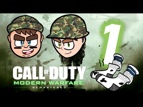 Call of Duty Modern Warfare Remastered: THE SOCK!!! - PART 1 - CGI Studios
