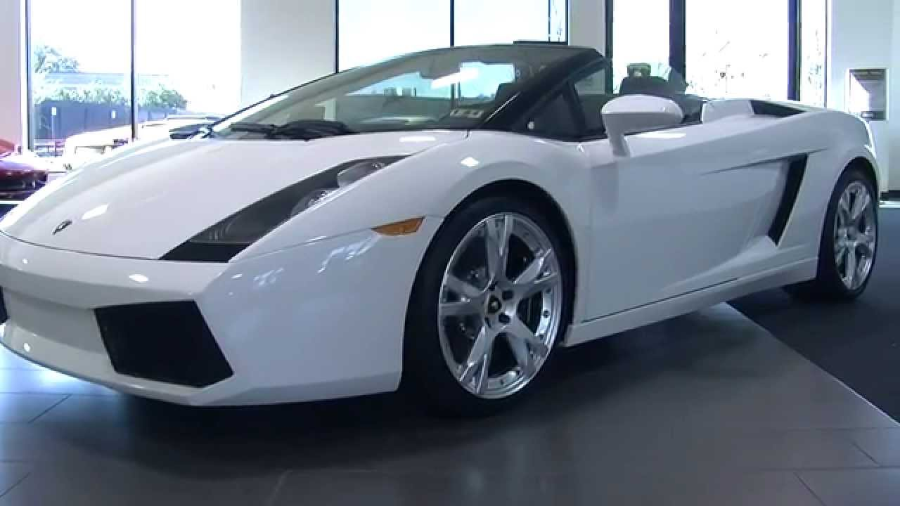 2007 Lamborghini Gallardo Spyder For Sale - YouTube