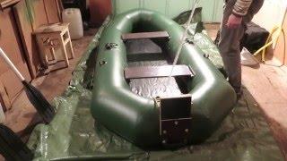 Надувная пвх  лодка Компакт,обзор,готовимся к рыбалке(Надувная пвх лодка Компакт,обзор,готовимся к рыбалке., 2016-04-23T12:18:22.000Z)