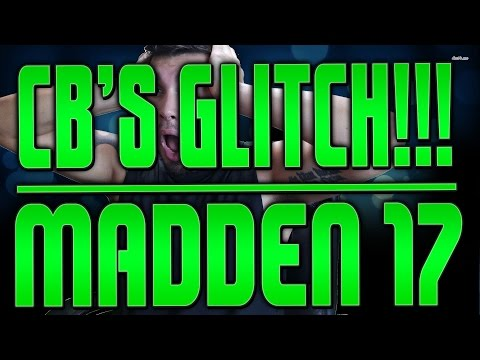 HOW TO DO THE SWERVE CATCH GLITCH IN MADDEN 17!! HOW TO GLITCH DBS IN MADDEN 17! FREEZE DB GLITCH!!