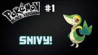 Pokemon Black #1 - Snivy, Eu Escolho Você!