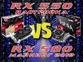 Майнинг 2018 ! Radeon RX550 VS RX580 / майнинг на criptonight / настройка rx550 для майнинга