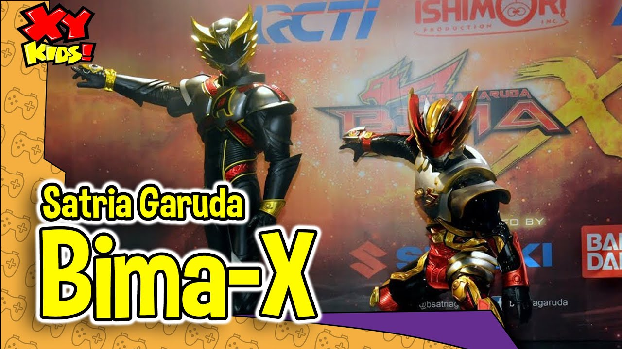 Satria Garuda Bima-X (RCTI) by NEP/XY-Kids! - YouTube