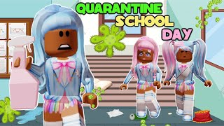 OUR SCHOOL SHOULD BE IN QUARANTINE!...(Roblox Story) Unicorne City Opposite Sisters