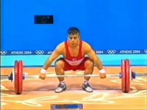 Frank Rothwell's Olympic Weightlifting History Halil Mutlu, 2004 Olympic Gold.wmv
