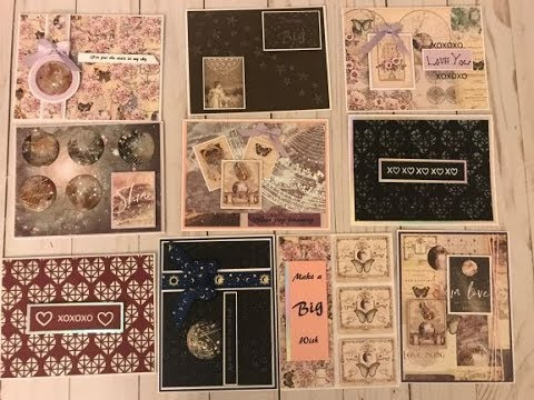 10 Cards One Kit Creative Escape Papercrafting January 2019 Mp3
