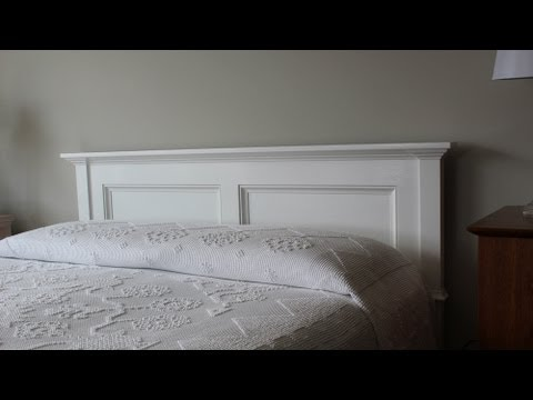 How to paint and install the headboard by Jon Peters