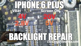 iPhone 6 Plus Backlight repair