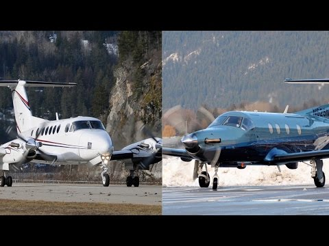 Pilatus PC-12 vs Beechcraft King Air 200