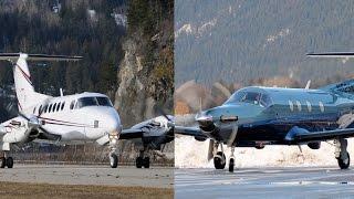 Pilatus PC-12 vs Beechcraft King Air 200