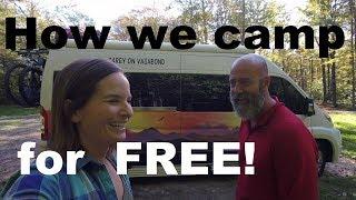 How We Find Free Camping: Apps and Websites. Roadtrek Van Life.
