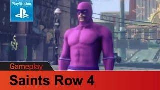 Saints Row 4 PS3 gameplay 1