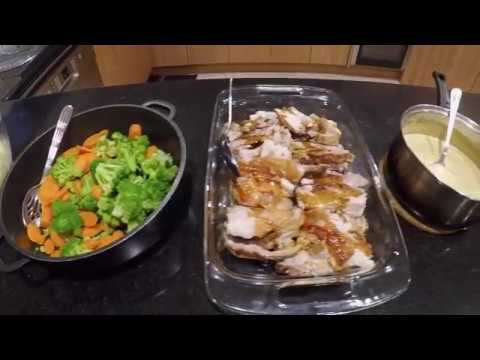 Roast Pork With Mushroom Gravy - FilofoodMAFIA