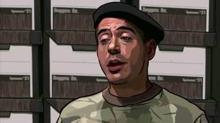 two minutes of james barris talking crap a scanner darkly