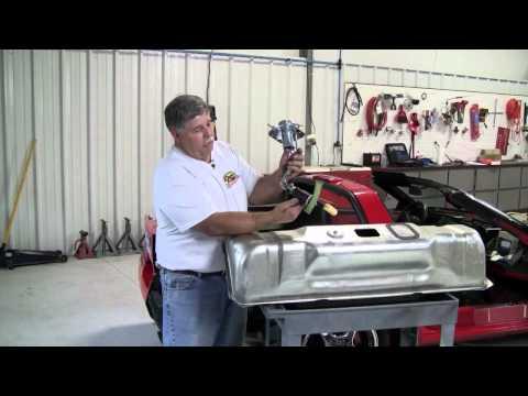 C4 Corvette Cutaway Fuel Sending Unit-Tank