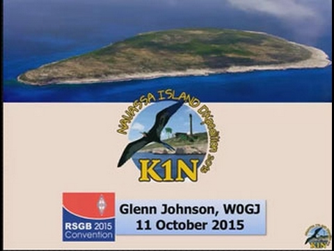 RSGB Convention lecture 2015 - Navassa Island DXpedition