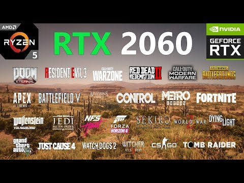 RTX 2060 Test In 30 Games