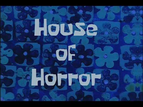 Beautiful SpongeBob Production Music House Of Horror