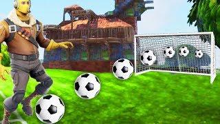 *NEW* SECRET SOCCER MINI-GAME! Fortnite: Battle Royale (Football Custom Game!)