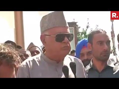 Farooq Abdullah Questions Arrest Of Separatists