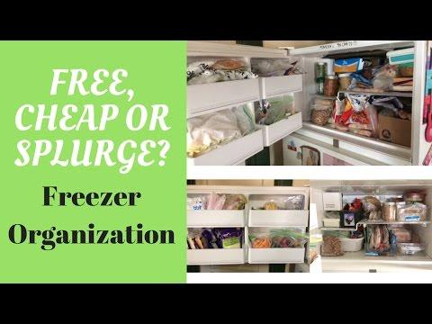 Free, Cheap or Splurge: Freezer Organization! -$4,269
