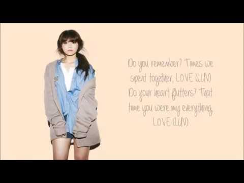 A-Pink - LUV (에이핑크) (ENG)