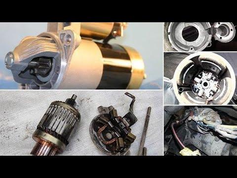 Форд фокус 1 USA Снятие и ремонт стартера.