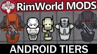 ТОП МОДЫ RimWorld - Android tiers 1 часть // Андройды и механические животные // ТУТОРИАЛ