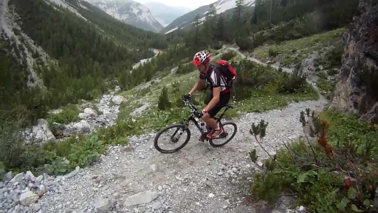 Transalp Mountainbike Tour 2012 Ramosch