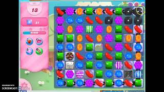 Candy Crush Level 561 Audio Talkthrough, 1 Star 0 Boosters