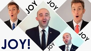 Joy To The World (Jeremiah Was A Bullfrog) - A Cappella Barbershop Quartet cover